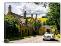 Yesteryear. The Cotswolds., Canvas Print