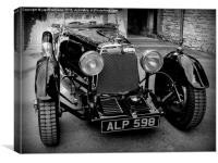 ASTON MARTIN 1933, Canvas Print