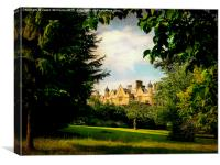Dumbleton Manor , Canvas Print