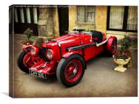 Rare Aston Martin., Canvas Print