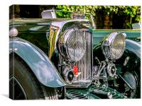 1930's Aston Martin, Canvas Print