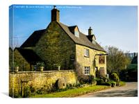 Bakers Arms, Canvas Print