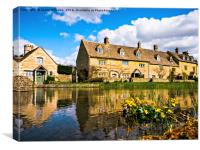 Lower Slaughter (The Cotswolds), Canvas Print