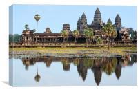 Angkor Wat Temple, Cambodia, Canvas Print