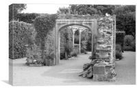 Victorian Garden, Canvas Print