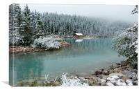 Lake Louise, Alberta Province, Canada, Canvas Print