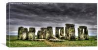 Stonehenge, Canvas Print