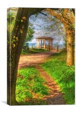 Reigate Hill, Canvas Print