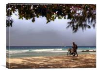 Barbados Rush Hour, Canvas Print