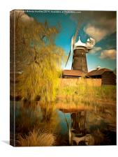 Wray Common Windmill Reigate, Canvas Print