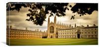 King's College Chapel Cambridge, Canvas Print