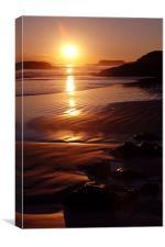 Cox Bay Sunset, Canvas Print