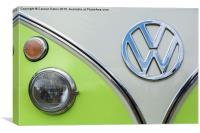 VW Campervan , Canvas Print