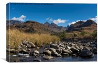 Cathedral Peak, Drakensbergs, South Africa, Canvas Print