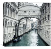 Bridge of Sighs, Venice, Canvas Print