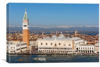 St Mark's Square, Venice, Canvas Print