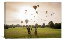 Bristol Balloons, Canvas Print