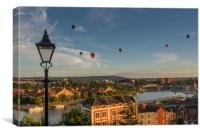 Bristol Balloons from Cliftonwood, Canvas Print