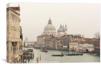 Winter in Venice, Canvas Print
