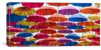 Umbrellas!, Canvas Print