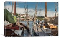 Bristol Harbourside, Canvas Print