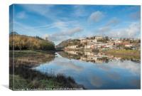 Bristol Reflected, Canvas Print