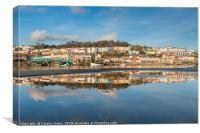 Bristol Harbourside Reflected, Canvas Print