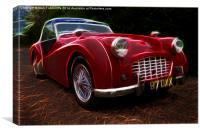Triumph TR3, Canvas Print