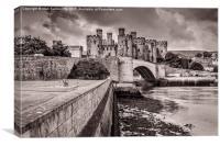 Conwy Castle, Canvas Print