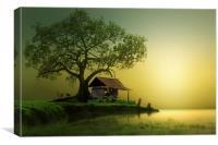 Dream land, Canvas Print