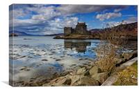 Eilean Donan Castle., Canvas Print