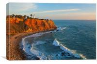 Point Vicente Lighthouse California, Canvas Print