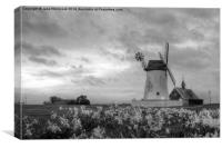 Windmill at Lytham St Annes, Canvas Print