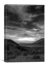View from the Whinlatter Pass, Canvas Print