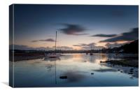Red Wharf Bay Sunset, Canvas Print