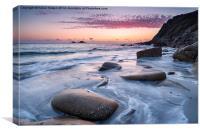 Porth Nanven Beach, Canvas Print