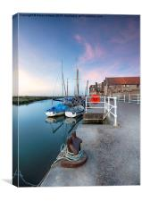 The Quay at Blakeney, Canvas Print