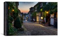 Beautiful Cobble Street, Canvas Print