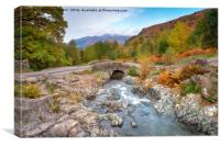 Autumn at Ashness Bridge, Canvas Print