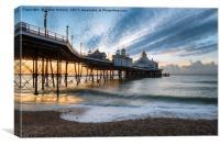 Dawn at Eastbourne, Canvas Print