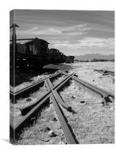 End of the line, Canvas Print