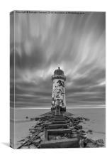 Deserted Lighthouse, Canvas Print