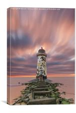 Deserted Lighthouse, Canvas Print