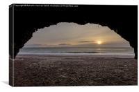 Sea Cave, Canvas Print