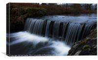 Waterfall in Bradgate Park, Canvas Print