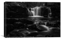 Brecon falls, Canvas Print