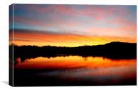 Good Morning Peak District, Canvas Print