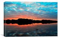 Sunset Splash, Canvas Print