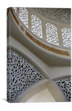 Sheikh Zayed Mosque, Abu Dhabi, Canvas Print