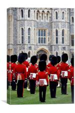 Welsh Guards Band 1, Canvas Print